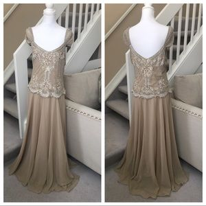 Dresses & Skirts - Nude Gown Size 12